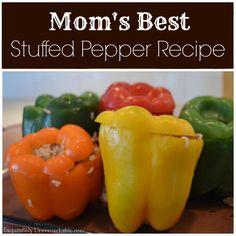 Super easy stuffed pepper recipe