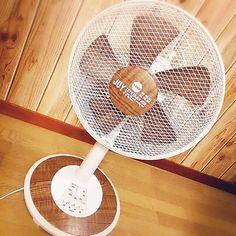 扇風機にリメイクシート