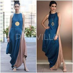 Yay or Nay : Diana Penty in Payal Khandwala Indian Dresses, Indian Outfits, Backless Long Dress, Diana Penty, Anarkali Dress, India Fashion, Indian Designer Wear, Indian Wear, Dress Patterns