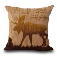 Wild & Free Pillow Covers