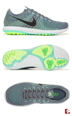 Set your own pace in the Flex Fury athletic shoe from Nike. These adorable running shoes keep you comfortable with their smooth lining and cushioning footbed. The flex groove outsole has a rubber traction pod to keep you in control in high abrasion areas.