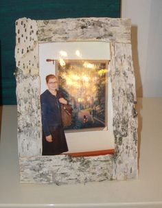 How to Make Birchbark Picture Frames