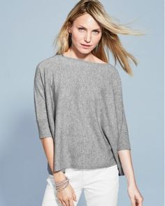 Essential Cashmere V-Neck Sweater | Cashmere anything | Pinterest ...