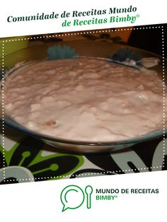 Semifrio de pessego com morango de Tania e Claudio. Receita Bimby<sup>®</sup> na categoria Sobremesas do www.mundodereceitasbimby.com.pt, A Comunidade de Receitas Bimby<sup>®</sup>.