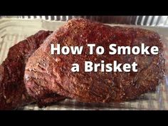 """Competition Brisket Recipe - How To Smoke Beef Brisket and Burnt Ends Yoder!!! """"How to BBQ right"""""""