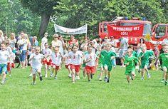 Sportowy duch Pikniku Charytatywnego fot. Paweł Bugira  #kids #run #zawody