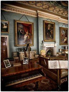 Drawing Room, Attingham Park and Estate, Shropshire                                                                                                                                                                                 More