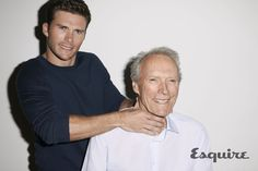 """Pin for Later: Scott Eastwood on His Famous Father: """"He's Definitely Old-School"""""""