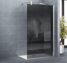 kit de d marrage paroi de douche noire 60 cm zenne paroi. Black Bedroom Furniture Sets. Home Design Ideas