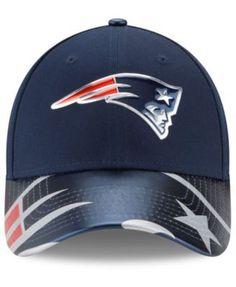 New Era Women's New England Patriots 2017 Draft 9FORTY Cap - Blue Adjustable