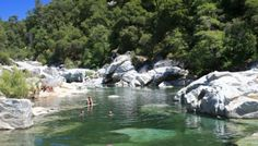 South Yuba River swimming hole