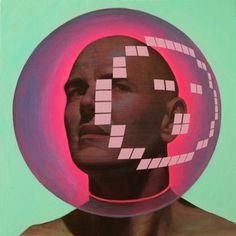 Pintura futurista en technicolor de Alex Kiessling1