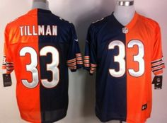 ... Nike Chicago Bears 33 Charles Tillman Lights Out Gray Elite Jersey NFL  Chicago Bears jerseys Pinterest ... 48f673607