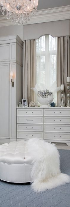 Dream Dressing Rooms | Luxurious Closets | Clothing, jewelry, shoes and accessories storage and organization
