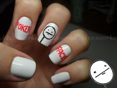 Poker Face Nails