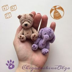 Amigurumi Hijab hijab o que Bunny Crochet, Crochet Animal Amigurumi, Crochet Elephant, Crochet Teddy, Crochet Animal Patterns, Amigurumi Patterns, Cute Crochet, Crochet Animals, Crochet Dolls