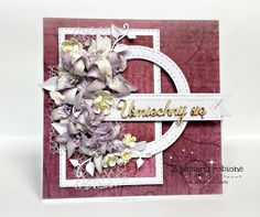 kartka urodzinowa hand made Valentine Day Cards, Scrapbooking, Frame, Decor, Birthday, Valentine Ecards, Picture Frame, Decoration, Scrapbooks