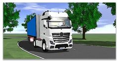 Real-time simulation of heavy-duty vehicles