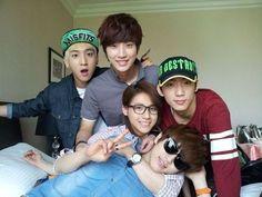 #B1A4 #Sandeul #Gongchan #Jinyoung #CNU #Baro
