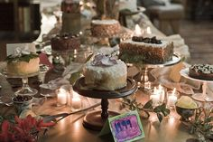 love dessert buffets in place of wedding cake