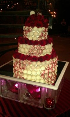 Cake ball wedding cake By Gingeris on CakeCentral.com
