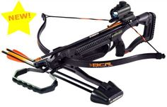 Barnett Crossbow - Buck Commander Recurve 150lb draw weight 245 FPS Features Barnett custom composite laminate limbs and anti dry-fire trigger safety