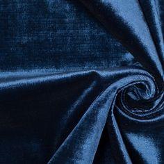 Turkish Royal Blue Polyester Velvet Dark Blue Living Room, Retail Store Design, Mood Fabrics, Buy Fabric, Velvet Sofa, Blue Canvas, Black Forest, Fabric Online, Canvas Material