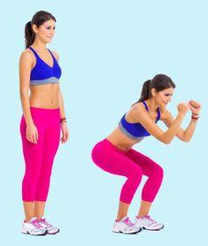5 gyakorlat a tested átformálásához 15 perc alatt Bridge Workout, Hiit Program, Smoothies For Kids, Skinny Mom, Health Goals, Custom Dresses, Tabata, Cool Logo, Going To The Gym