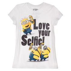 Despicable Me Girls' Graphic Tee