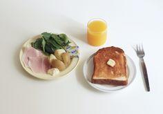 palaaamua: バタートースト サラダ ハム ポテト オレンジジュース : APPAREL