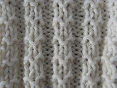 Ponto Barra Granulada | Tricoteiras