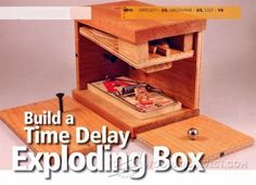 Exploding Coin Bank Plans - Woodworking Plans and Projects | WoodArchivist.com