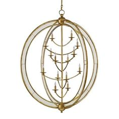 Currey and Company Aphrodite Chandelier, Large 9236