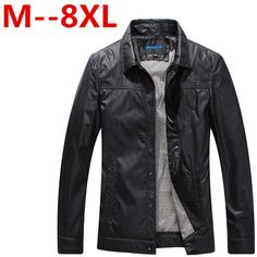 Humor Lasperal Plus Size 3xl Winter Warm Men Leather Jacket Fashion Stand Collar Thick Overcoat Leather Jacket Comfortable Jaquetasz30 Up-To-Date Styling Jackets & Coats Jackets