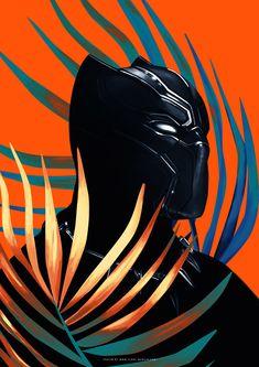 HeroChan — Black Panther Art by Flore Maquin Marvel Comics, Marvel Art, Marvel Avengers, Black Panther King, Black Panther Marvel, Black Panthers, Captain America, Pop Art Wallpaper, Batman Arkham City