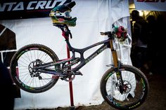 Greg Minnaar's World Champs Santa Cruz V10C