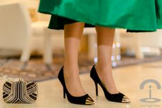 Look Año Nuevo Crimenes de la Moda - Happy New Year - falda verde larga - green midi skirt - collar Zara necklace - zapatos Kenneth Cole shoes - top Forever21 body