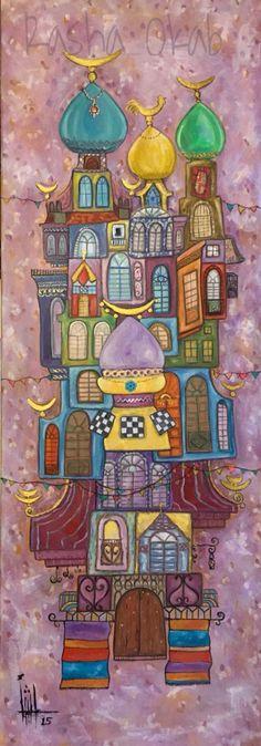 DesertRose,;,beautiful painting,;,. Alasadi