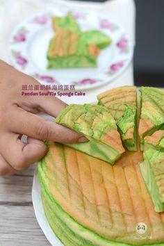 班兰蛋奶酥海面蛋糕 Pandan Souffle Sponge Cake