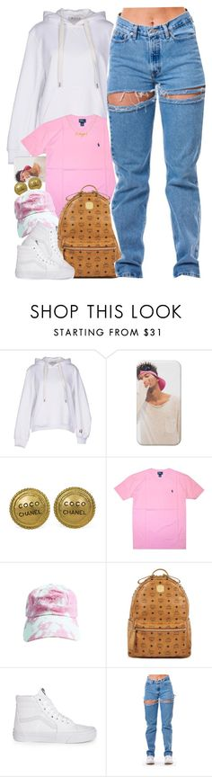 """Untitled #1597"" by power-beauty ❤ liked on Polyvore featuring T By Alexander Wang, Chanel, Polo Ralph Lauren, MCM and Vans"