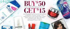 GRATIS $15 en mail in rebate cuando compres $50 en productos de belleza de Procter & Gamble – Súper Baratísimo Gratis