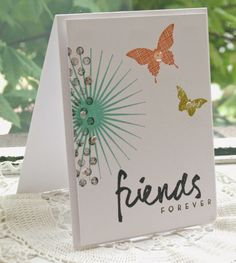 Hey There .... rosigrl!: Kinda Eclectic - Stampin' Up! CAS