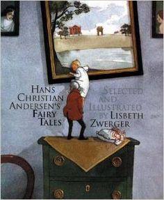 Andersen's Fairy Tales by Lisbeth Zwerger http://www.amazon.com/Hans-Christian-Andersens-Fairytales-Andersen/dp/0698400356/ref=sr_1_1?ie=UTF8&qid=1417889805&sr=8-1&keywords=Andersen%27s+Fairy+Tales+by+Lisbeth+Zwerger