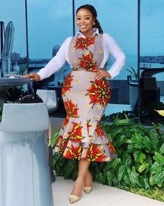 Cute African Print Dresses : Styles Ideas That Will Make You Look More BeautifulHello ladies. These are cute African print dresses inspiration that will leave Latest African Fashion Dresses, African Dresses For Women, African Print Dresses, African Print Fashion, Africa Fashion, African Attire, Ankara Fashion, Ankara Long Gown Styles, Ankara Styles