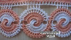 45 Ideas crochet lace edging dish towels for 2019 Crochet Edging Patterns, Crochet Lace Edging, Crochet Borders, Crochet Diagram, Crochet Doilies, Crochet Yarn, Crochet Flowers, Lace Patterns, Crochet Hook Set