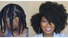Watch This How To Get The Perfect Flat Twist Out For All Types Of Natural Hair! - September 14 2019 at Twist Out 4c Hair, Flat Twist Out, Natural Hair Twist Out, Twist Outs, Natural Hair Types, Natural Hair Care, Natural Skin, Twist Hairstyles, Cool Hairstyles