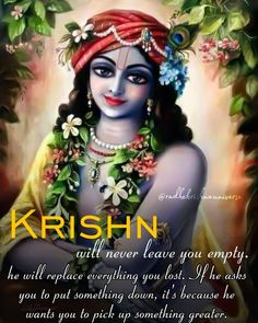 Krishna Leela, Krishna Love, Lord Krishna, Simply Quotes, Srila Prabhupada, Krishna Quotes, Mythology, Spirituality, Positivity