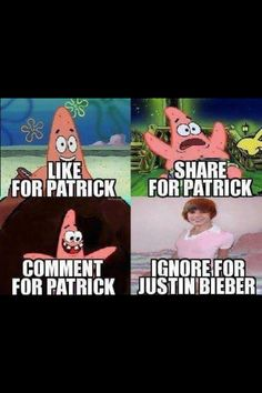 Lol :) got Patrick star :)