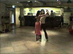 Javier Rodriguez y Geraldin Rojas bailan Cacareando [Orquesta Tipica Victor canta Carlos Lafuente, 1933]