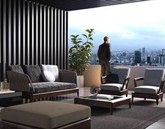 "Check out new work on my @Behance portfolio: ""Minotti Patio""…"